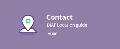 Contact. BIAF Location guide More